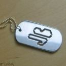 JB new Dog Tag 4,5х2,7см